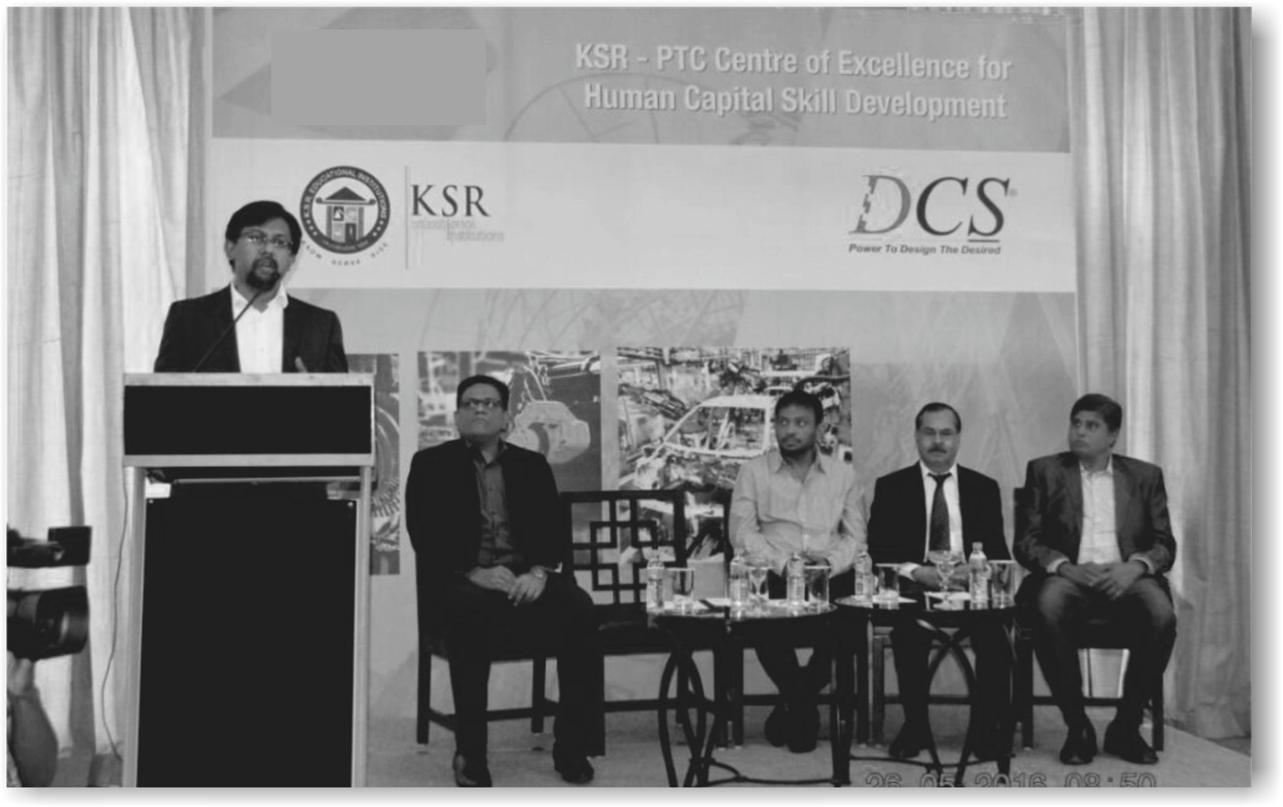 PTC with DCS sets up centre to hone skills of students at KSR Engg